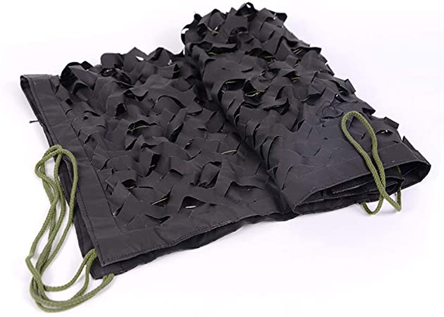 filet camouflage noir