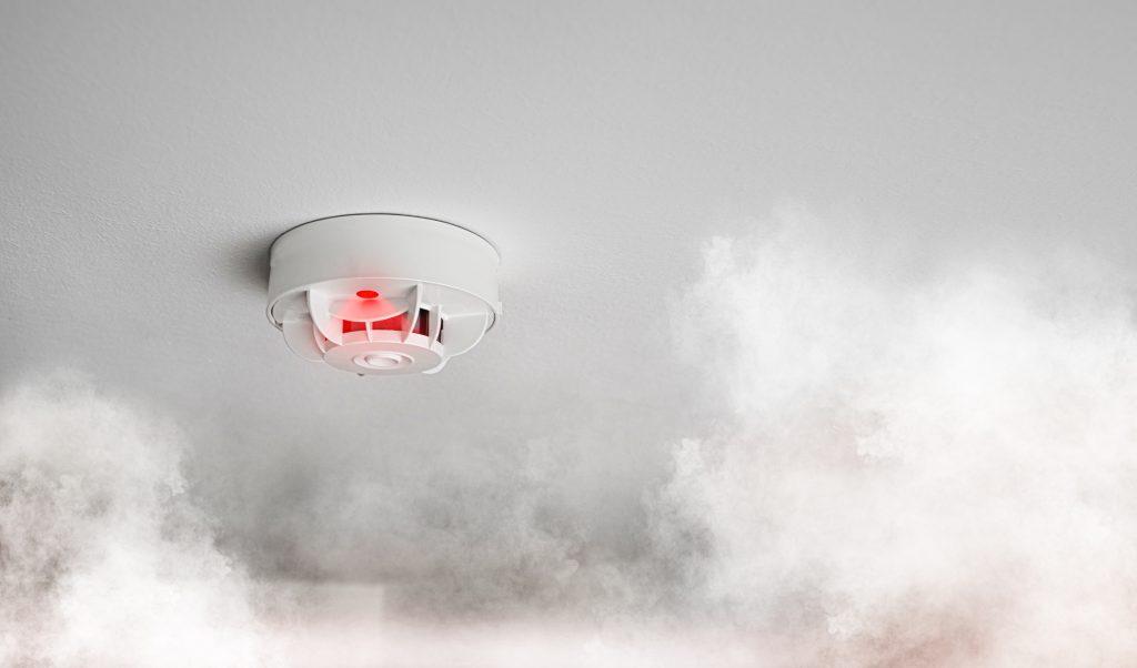 détecteur de fumée maison