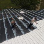 peinture du toit