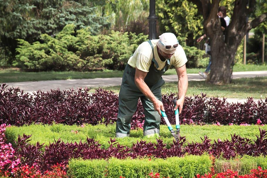 métier de jardinier