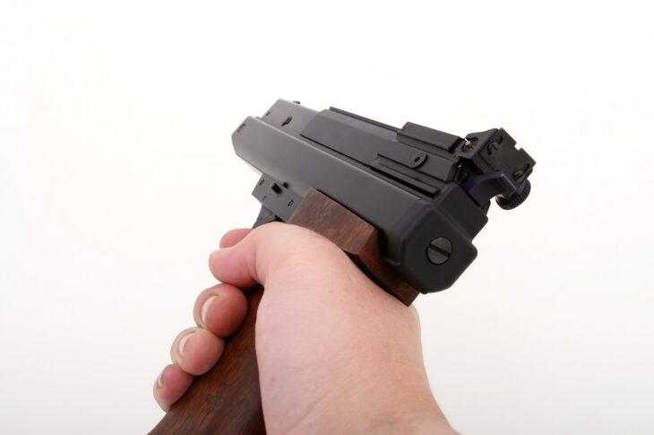 Arme à air comprimé