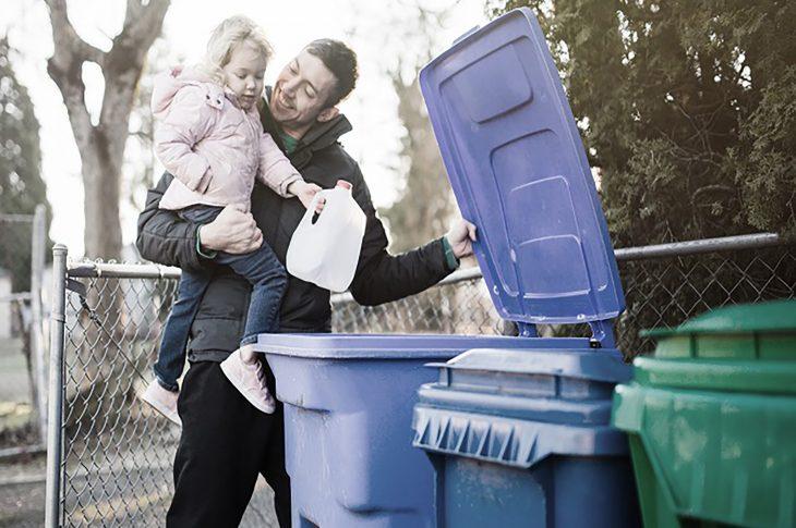 séparer les déchets