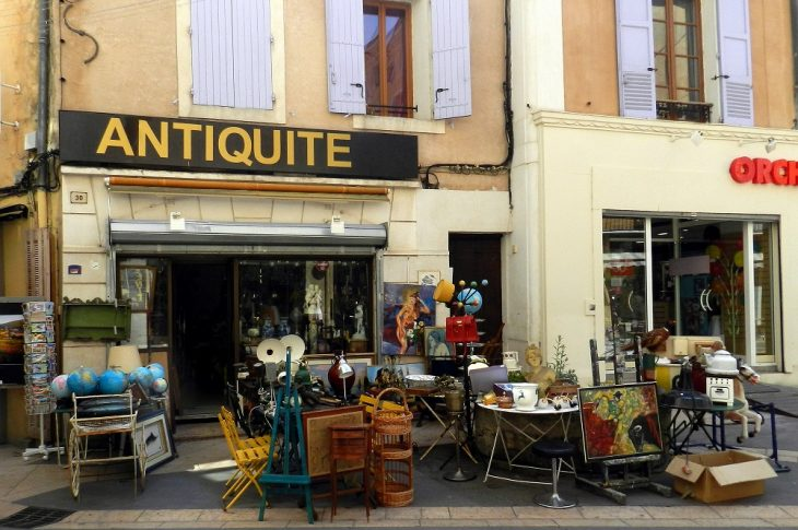 faire appel à un antiquaire
