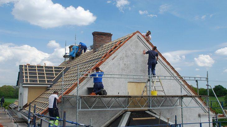 travaux de toitures