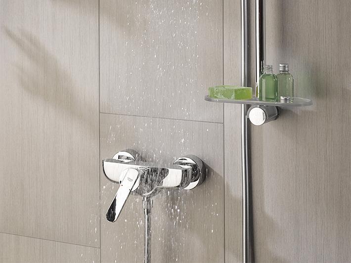 installer le robinet de douche