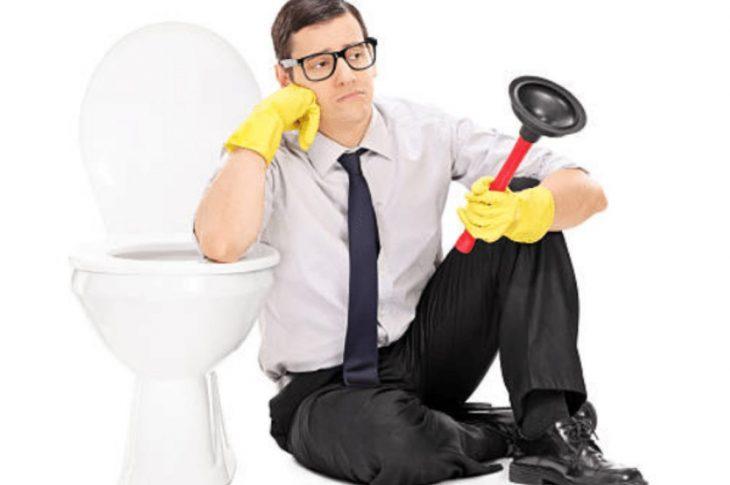 WC bouché : les 3 erreurs à ne pas faire !