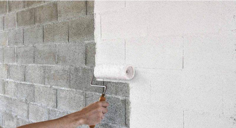 peindre mur en parpaing